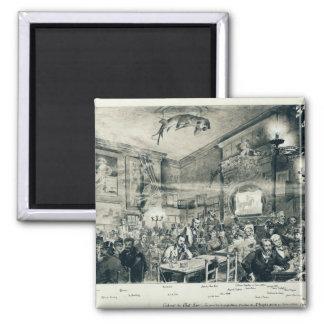 The Cabaret du Chat Noir, 1886 Magnet