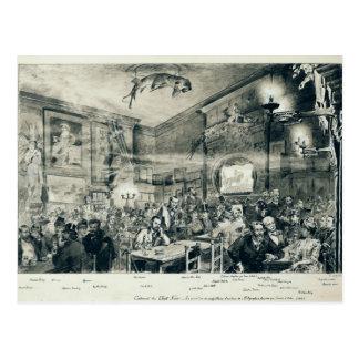The Cabaret du Chat Noir, 1886 Postcard