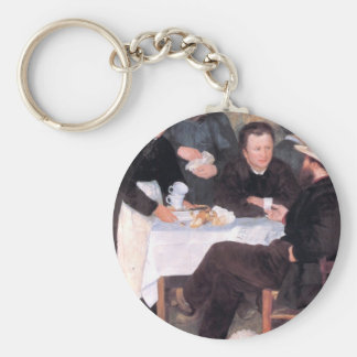 The cabaret of Mm Antony by Pierre Renoir Key Chain