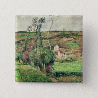 The Cabbage Slopes, Pontoise, 1882 Button