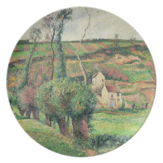 The Cabbage Slopes, Pontoise, 1882 Plate