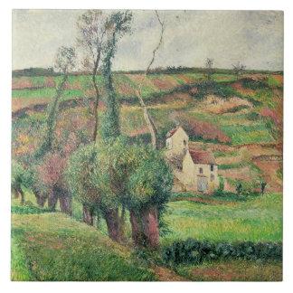 The Cabbage Slopes, Pontoise, 1882 Tile