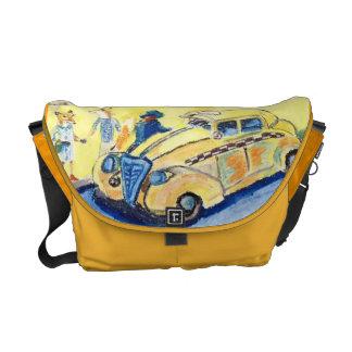 The Cabbie Messenger Bag