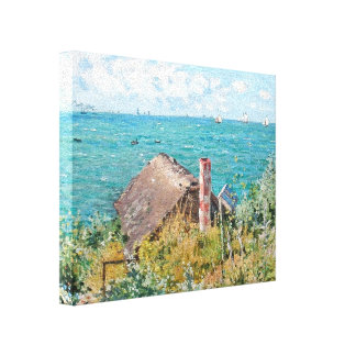 The Cabin at Saint-Adresse Canvas Print