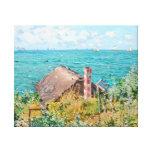 The Cabin at Saint-Adresse Claude Monet Fine Art Canvas Print