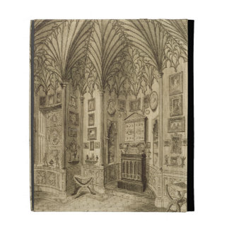 The Cabinet, engraved by T. Morris, from 'Descript iPad Folio Cover