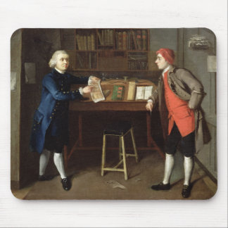 The Cabinet-Makers (oil on canvas) Mouse Pad