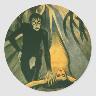 The Cabinet of Dr Caligari movie poster Classic Round Sticker