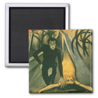 The Cabinet of Dr Caligari movie poster Magnet
