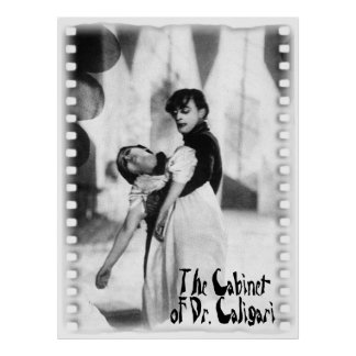 The Cabinet of Dr Caligari Print