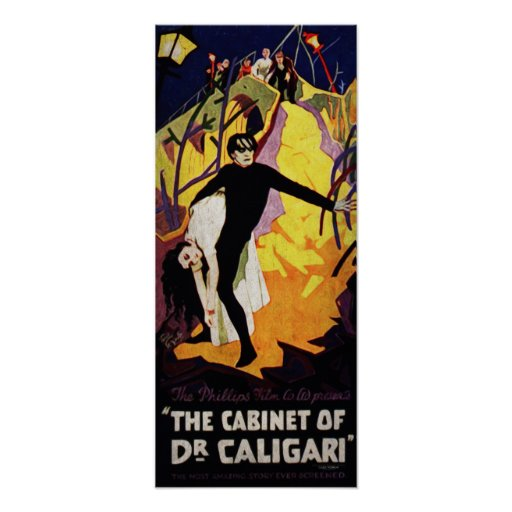 THE CABINET OF Dr. CALIGARI Poster | Zazzle