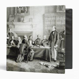The Cabinet of Lord Derby of 1867, 1868 Vinyl Binder