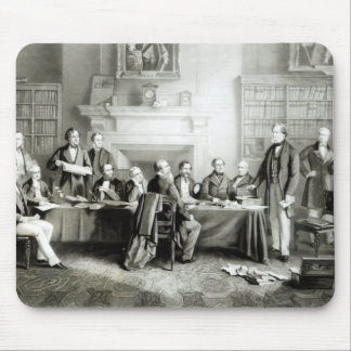 The Cabinet of Lord Derby of 1867, 1868 Mouse Pad