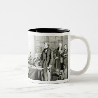 The Cabinet of Lord Derby of 1867, 1868 Two-Tone Coffee Mug