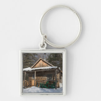 The cabins at the AMC's Little Lyford Pond Keychain