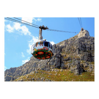 The Cable Car for Table Mountain Business Card Template