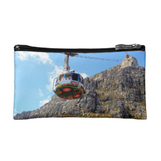 The Cable Car going up Table Mountain in Cape Town Cosmetic Bag