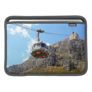 The Cable Car going up Table Mountain in Cape Town MacBook Air Sleeve