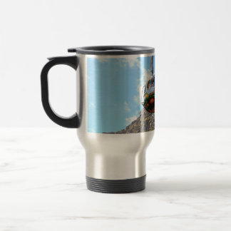 The Cable Car going up Table Mountain in Cape Town Travel Mug