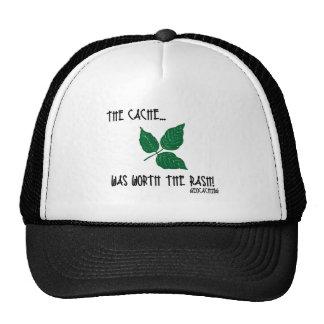 The Cache was worth the rash! Hats