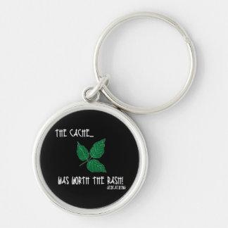 The Cache was worth the rash! Keychain