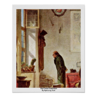 The Cactus Enthusiast By Spitzweg, Carl Posters