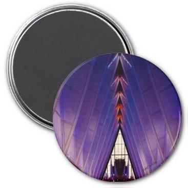 The Cadet Chapel in Colorado Springs Magnet