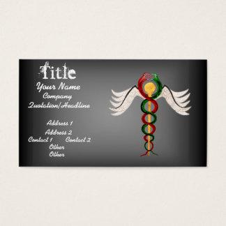 The Caduceus Business Card
