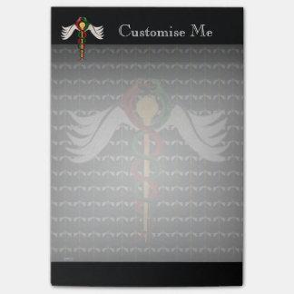 The Caduceus (Full Colour) Post-it Notes