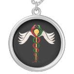 The Caduceus Personalized Necklace