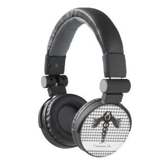 The Caduceus (Subdued) Headphones
