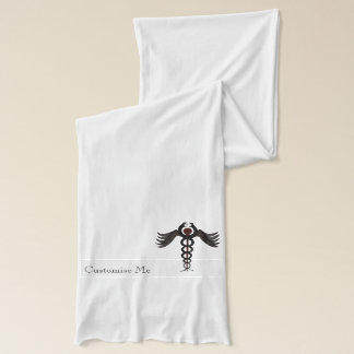 The Caduceus (Subdued) Scarf
