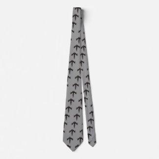 The Caduceus (Subdued) Tie