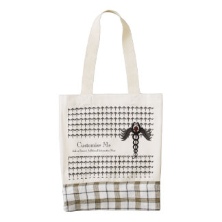 The Caduceus (Subdued) Zazzle HEART Tote Bag