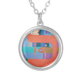 The Caf Letter - Hebrew Alphabet Necklaces