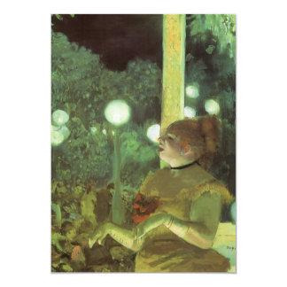 The Cafe Concert by Edgar Degas, Vintage Fine Art Card