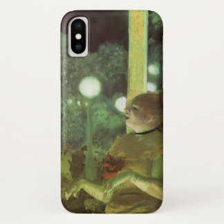 The Cafe Concert by Edgar Degas, Vintage Fine Art iPhone X Case