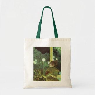 The Cafe Concert by Edgar Degas, Vintage Fine Art Tote Bag