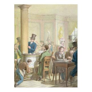 The Cafe de Commerce, from 'Tableau de Paris' Postcard