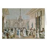The Cafe Frascati in 1807 Card