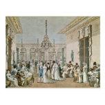 The Cafe Frascati in 1807 Postcard
