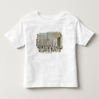 The Cafe Frascati in 1807 Toddler T-shirt