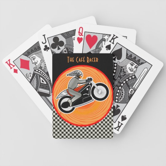 The Café Racer (Poker Deck) Bicycle Playing Cards