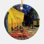 The Cafe Terrace in Arles, at Night - van Gogh Christmas Ornaments