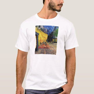 The cafe terrace on the place du forum, Arles, at T-Shirt