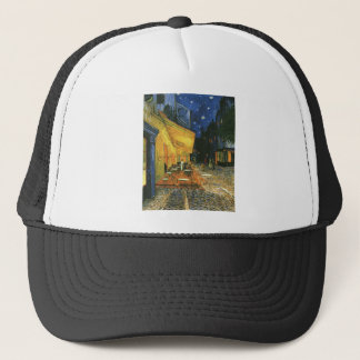 The cafe terrace on the place du forum, Arles, at Trucker Hat