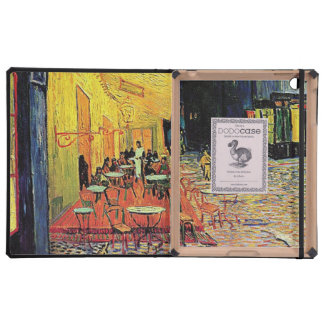 The Cafe Terrace on the Place du Forum, Arles... iPad Folio Cases