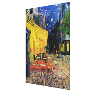 the cafe terrace on the place...Vincent van Gogh Gallery Wrap Canvas