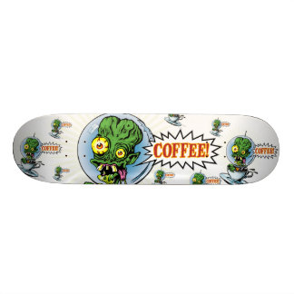 The Caffeine Case from Outer Space™ - The Board Skate Board Deck