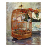 The Cage by Berthe Morisot Posters
